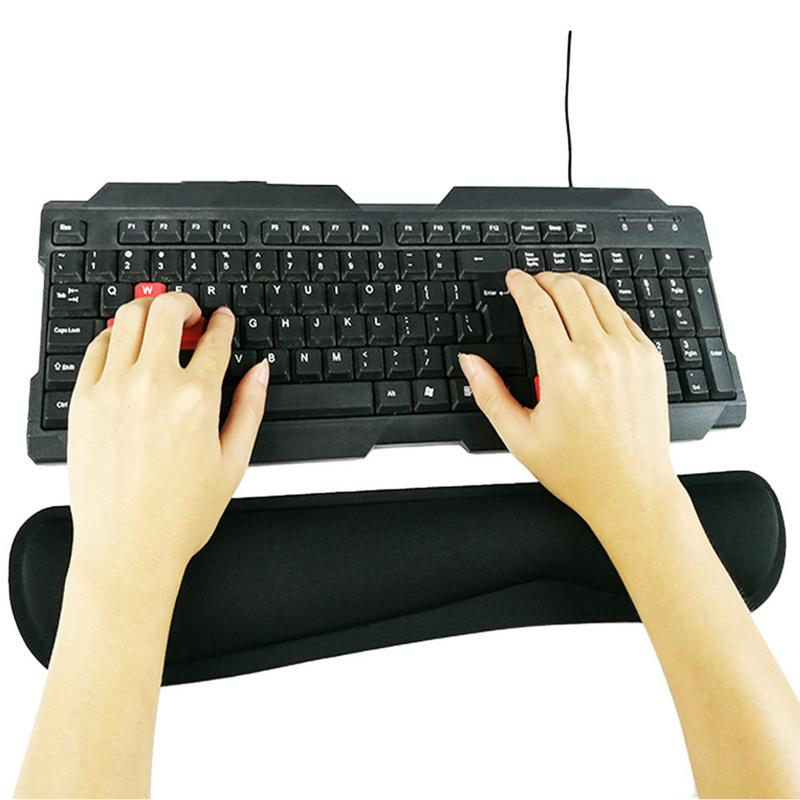 Mechanical Keyboard Hand Care Support Wrist Care Comfort Mouse Pad Ergonomic Memory Cotton For For Office Computer LaptopMechanical Keyboard Hand Care Support Wrist Care Comfort Mouse Pad Ergonomic Memory Cotton For For Office Computer Laptop