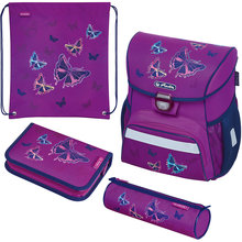Ранец Herlitz Loop Plus, Glitter Butterfly