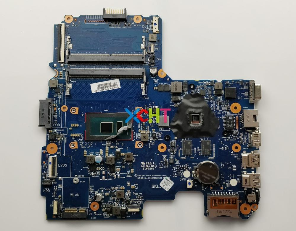 For HP 14 AM Series 909173 601 909173 001 6050A2822501 MB A01 W R5M1 30/2G I3 6006U CPU Laptop Motherboard Tested
