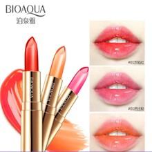 BIOAQUA Lip Balm Moisture Color Waterproof Lipstick Long Las