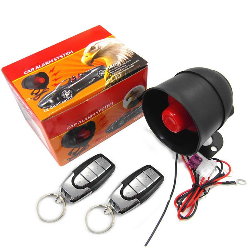 Car Alarm Device - Vibration Alarm Device Free Trimming Installation For 12V Car Motorcycle Truck M810-8115 2019