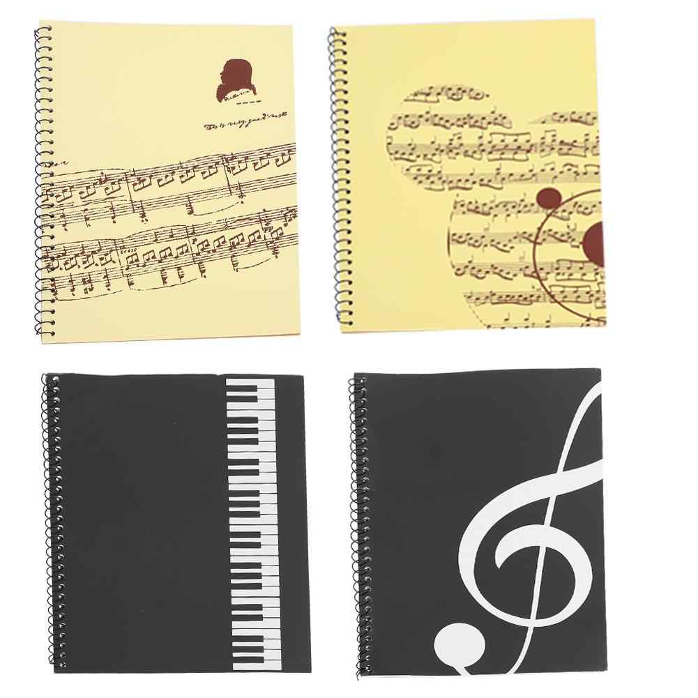 50 Pages Musical Notation Staff Notebook Music Manuscript Writing Paper Guitar Parts Accessories