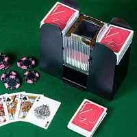 Poker Karte Automatische Kartenmischer Elektrische Bord Spiel Karten Shuffler Sechs Decks Von Karten Shuffle In Sekunden