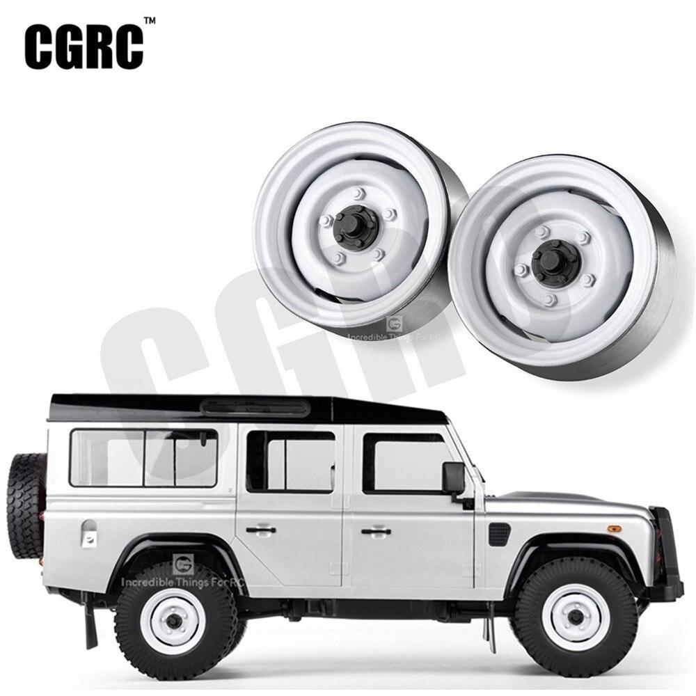 Classic 4pcs Metal 1 9inch Wheel Hub Rim Beadlock For 1 10 RC Crawler Car TRX4