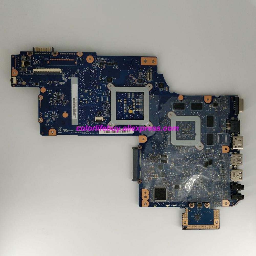 Image 2 - Натуральная H000046240 w 216 0833000 GPU MB REV: 2,1 Материнская плата ноутбука Toshiba Satellite, 17,3 ''L870 L875 Тетрадь ПК-in Материнская плата для ноутбука from Компьютер и офис