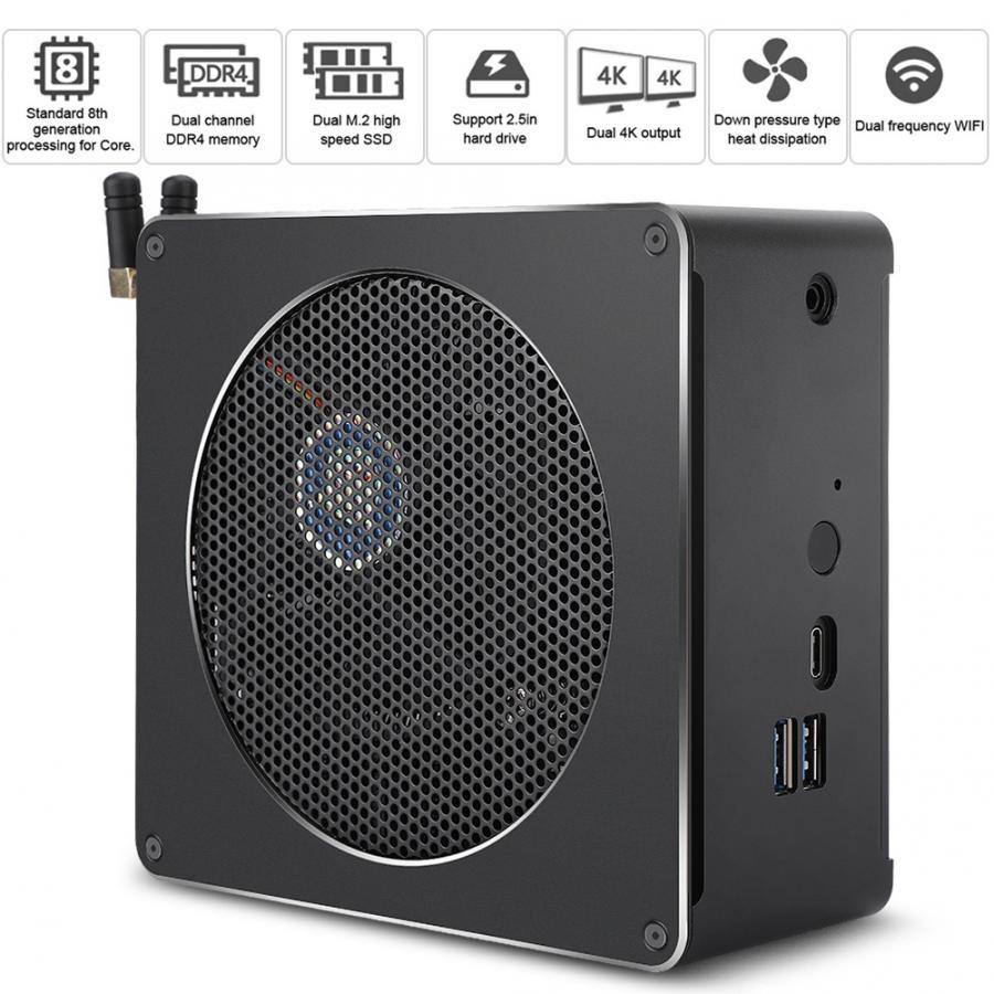Selbstlos Mini Computer 4-core Host Für Intel I5 8300 H Keine Keine Rohen Lagerung Standard System 100-240 V Direktverkaufspreis