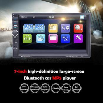 Autoradio 2 Din MP5 Video Player GPS Navigation Car Bluetooth Stereo FM USB AUX Radio Cassette Recorder Car Audio Mirror Link