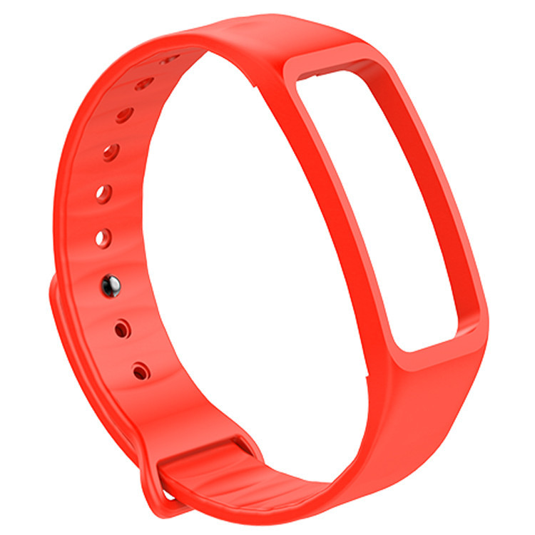 3   New 14mm Rubber Strap Metal Case For Xiaomi Miband 2 Smart Wristband Replacement Band  M61723  181124   jia