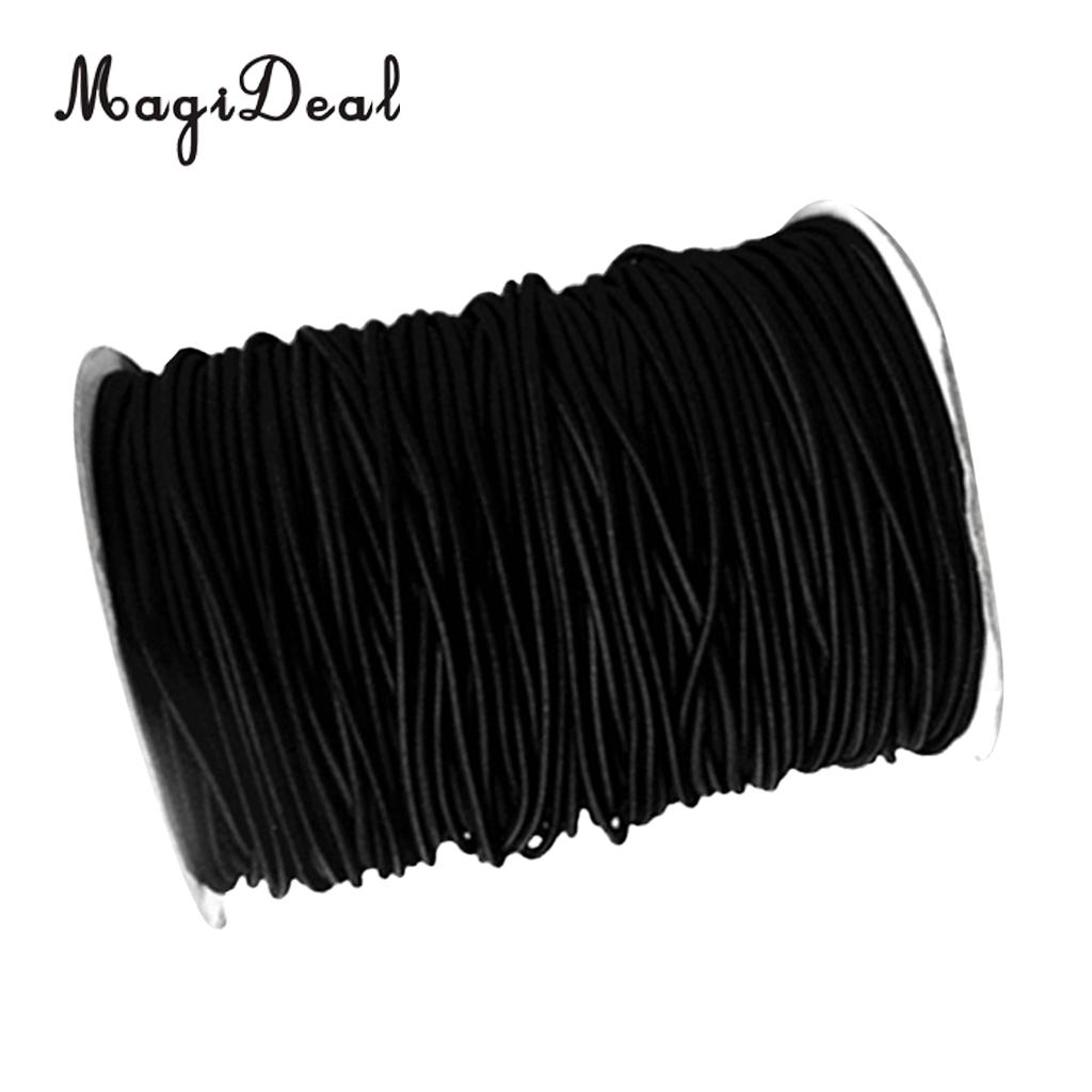 MagiDeal Heavy Duty 8mm 10m Elastic Bungee Rope Shock Cord Tie Down For Boats Trailers Climbing Caving Kayaks Caravans