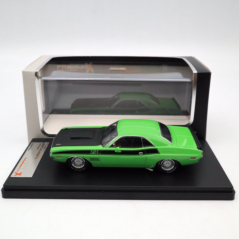 IXO Premium X 1:43 DODGE Challenger T/A 1970 Green PRD407J Limited Edition Collection Toys Car Diecast ModelsIXO Premium X 1:43 DODGE Challenger T/A 1970 Green PRD407J Limited Edition Collection Toys Car Diecast Models