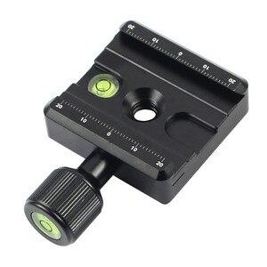 Image 3 - Adapter Platte Platz Clamp mit Gradienter für Quick Release Platte für Stativ Ball Kopf Q19819