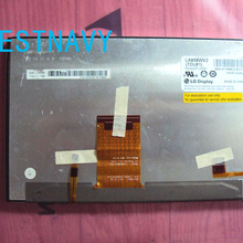 Абсолютно 8,0 дюймов ЖК-дисплей дисплей LA080WV2 TD01 LA080WV2-TD01 с сенсорным экраном в сборе для Автомобильная dvd-навигационная система ЖК-дисплей монитор