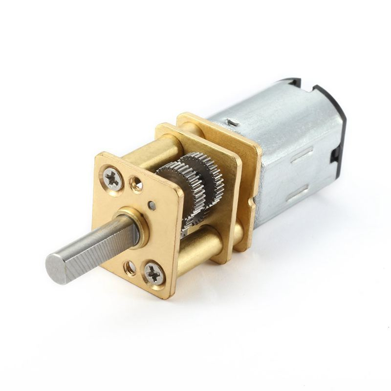 DC 6V 10RPM Micro Speed Reduction Motor Mini Gear Box Motor with 2 Terminals for RC Car Robot Model DIY Engine Toy|Gears| |  -