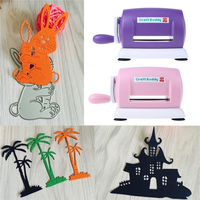 Children Handwork Tool Papers Cutting Embossing Machine DIY Scrapbooking Paper Cutter Dies With Plastic Cushion Plates