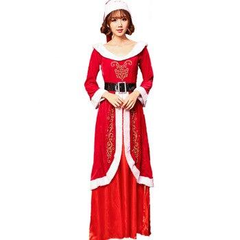 Disfraz De Santa Claus Disfraz De Reina De Navidad Disfraz De Cosplay Para Fiesta De Carnaval Dis