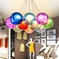 Omicron цветная линейная люстра Led домашний декор Освещение Современная мощность гостиная спальня подвесной светильник для отеля