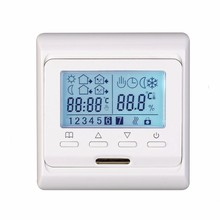 цены на 7 Programming Temperature controller Organ Floor Heating Electric Land Warm Double Control thermoregulator termostat Embedded  в интернет-магазинах