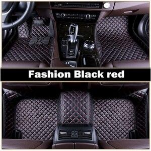 Автомобильные коврики для Honda CRV и 5D, подходят под заказ, сверхпрочные, всепогодные, кожаные коврики, напольные вкладыши (2007- now)