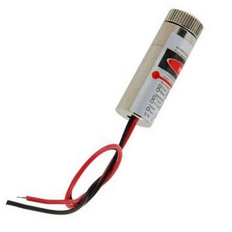 1 Pc Rot Licht Laser Kopf Modul 5 Mw 650nm Focus Einstellbar Optische Instrument 5 V Industrie Grade