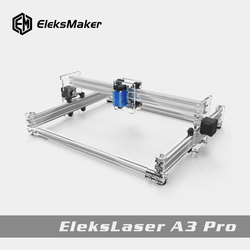 EleksMaker®EleksLaser A3 Pro 2500 mw Laser Gravur Maschine CNC Laser Drucker DIY