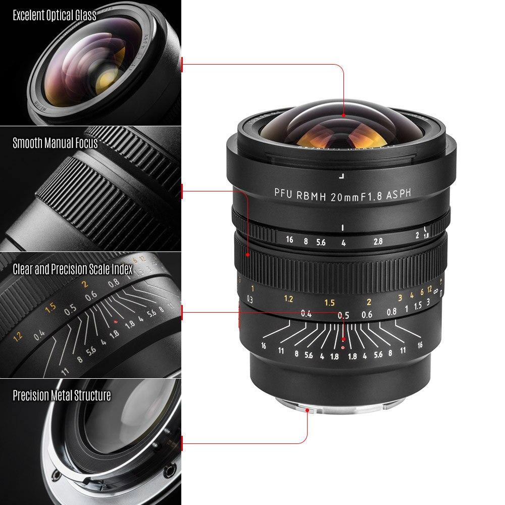 VILTROX FE 20mm/F1.8 E マウント MF フルフレーム広角プライムレンズソニー E マウント用カメラソニー A7 シリーズ A6300 A6500 A6000 NEX5  グループ上の 家電製品 からの カメラレンズ の中 2