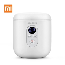 Original Xiaomi Youpin Mini Electric Rice Cooker 1.2L Kitchen Cooker Small Rice Cook Machine Intelligent Appointment LED Display