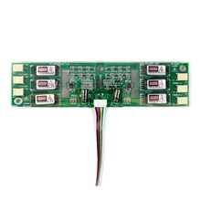 Tablero inversor Universal de 6 lámparas CCFL para pantalla LCD de 6 de retroiluminación CCFL