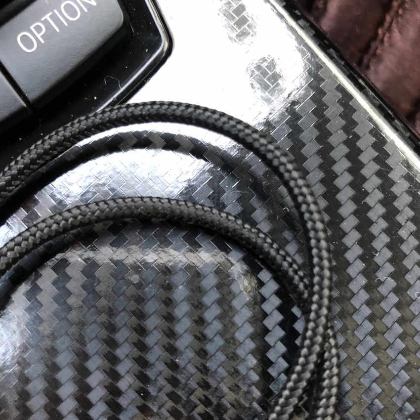 1 m Araba Telefonu Aux Ses Kablosu skoda fabia için peugeot 5008 2017 astra h suzuki gsxr kia carens koltuk cordoba odak mk2 renault