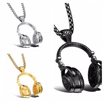 WannaVin Headphones Necklaces