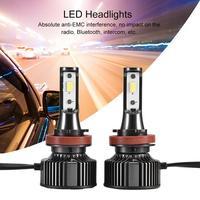 LED 3300/5500 6000K/4300K H7 H11/H8 9005/9006 9012 Car Headlight Bulbs 56W 7600LM Car Styling 6500K 4300K 8000K led automotivo