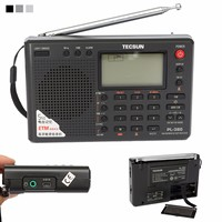 TECSUN PL 380 DSP PLL FM MW SW LW Digital Stereo Radio World Band Receiver New 3 Colors 7 Tuning Mode Selectable 135x86x29mm