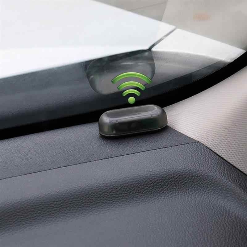 ユニバーサル車の太陽エネルギー警告ライトledフラッシュライト車の電源警報ランプセキュリティ警告盗難防止フラッシュ点滅注意