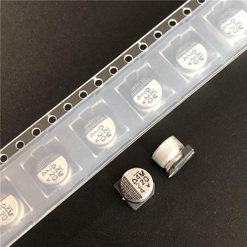 50pcs 100uF 4V Nichicon WX 5x5.4mm 4V100UF SMD Chip type Capacitor