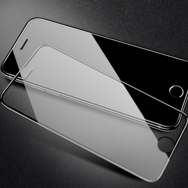 7D Full Cover Curved Tempered glass On the For iphone 7 6 6S 8 Plus X XS Screen Protector Protective For iphone 6 6S 7 8 Glass