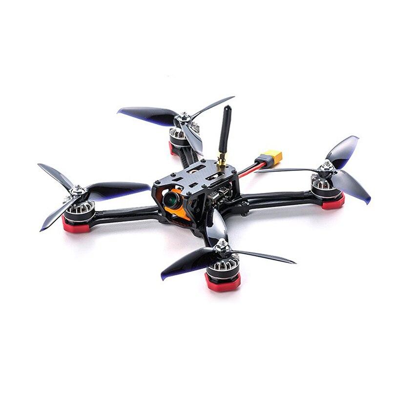 TransTEC żaba LITE 218mm FPV Drone Quadcopter PNP z F3 FC 2205 2600KV silnika VTX Runcam Mini kamera GEMFAN rekwizyty 5040 w Części i akcesoria od Zabawki i hobby na  Grupa 1