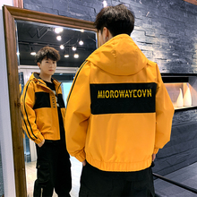 Male Jacket 2019 New Fashion Spring And Autumn Han Tide Leisure Chinese Style Loose windbreaker Coat hip hop Free shipping