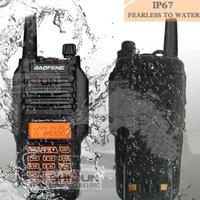 "uv9r מכשיר 100% מקורי Baofeng UV9R IP67 8W ארוך טווח מכשיר הקשר 10 ק""מ חובב רדיו Dual Band UV9R Portable CB רדיו Communicator (1)"
