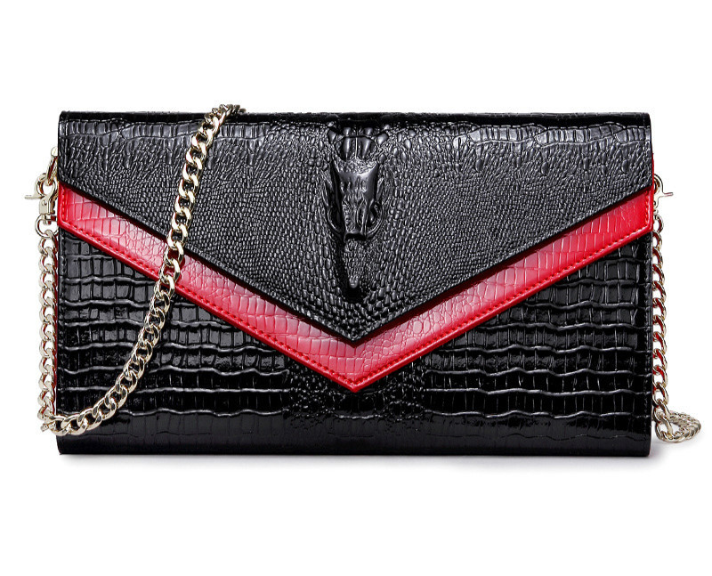 Women Crocodile Crossbody Bag Chain Mini Shoulder Bag Chain Small Messenger Bag Womens Handbags Purses Evening Clutch Bags SacWomen Crocodile Crossbody Bag Chain Mini Shoulder Bag Chain Small Messenger Bag Womens Handbags Purses Evening Clutch Bags Sac