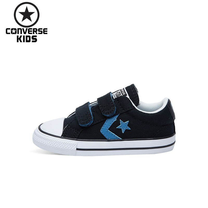 01d820206c87 Detail Feedback Questions about CONVERSE KIDS Shoes Black Star Arrows Low  Help Magic Subsidies Canvas Shoes  660743C H on Aliexpress.com