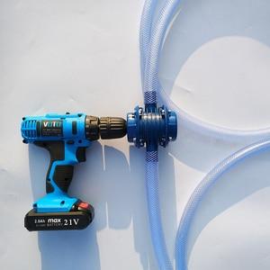 Image 2 - Nặng Tự Mồi Tay Máy Khoan Điện Nước Bơm Xe Ô Tô, Xe Tải Nhiên Liệu Dầu Xăng Diesel Nước Hóa Học Chất Lỏng Bơm ly Tâm