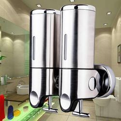 500ml Soap Dispenser pump Bathroom Pressure Liquid wall Mounted Manual bathroom Fixed the Wall Hotel Shower Dispensador de jab
