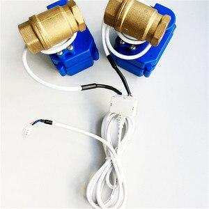 "Image 4 - HIDAKA WLD 807 (DN15*2pcs) Water Leaking Detector Alarm for Smart Home  Sensor Cable with 2pcs 1/2"" BSP NPT Valve 6m  Eu/US Plug"