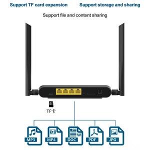Image 4 - 라우터 와이파이 300 mbps 기가 비트 GSM LTE 라우터 4 포트 무선 LEDE 라우터 4g lte lan 4G LTE 라우터 높은 수준의 PPTP, L2TP