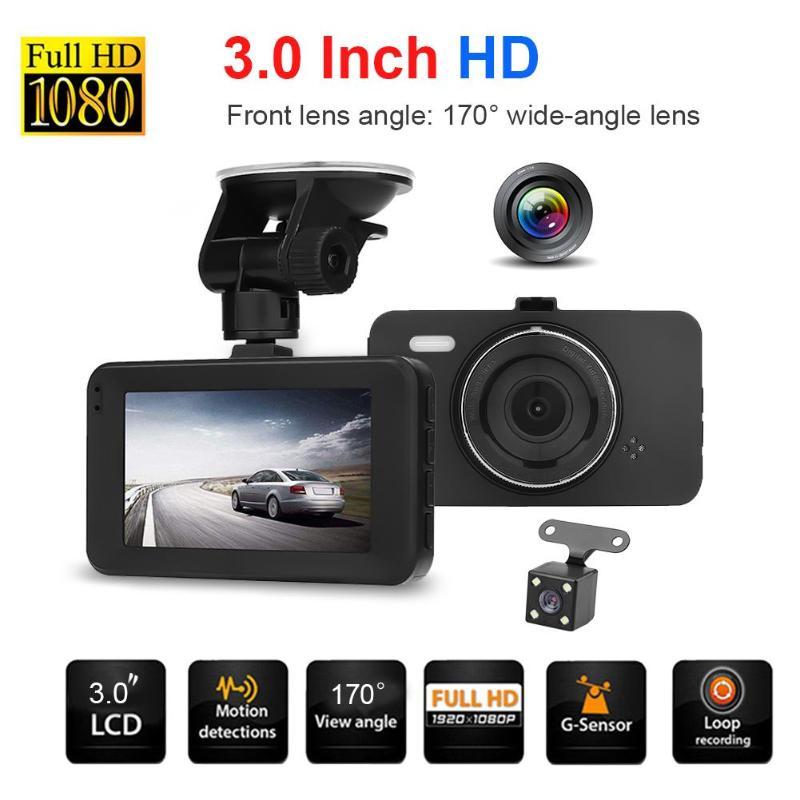 VODOOL 3Inch TFT Screen Car DVR Camera 170 Degree Wide Angle Len Car Dash Camera Video Recorder Registrator G Sensor Camcorder