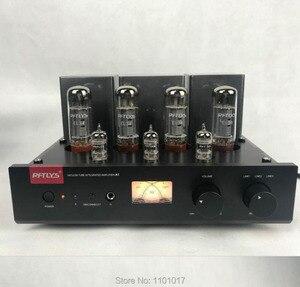 Ламповый усилитель RFTLYS A1 EL34, Hi-Fi усилитель EXQUIS с приемником Bluetooth 12au7 и 12ax7
