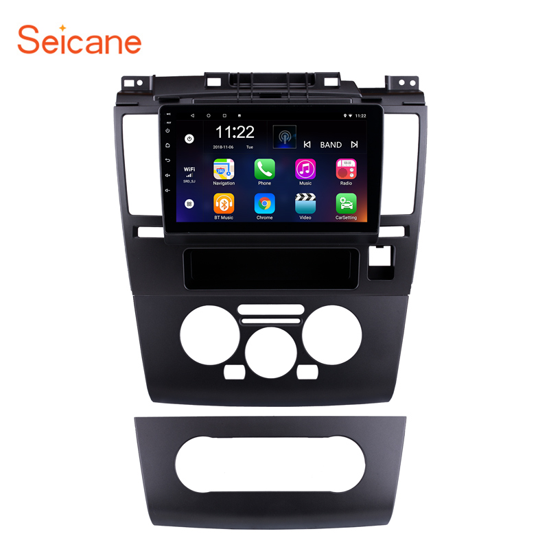 Seicane 9 inch for 2005 2010 Nissan Tiida Android 8.1 HD Touch Screen GPS Navigation Radio Bluetooth 3G Wifi Digital TV SWC