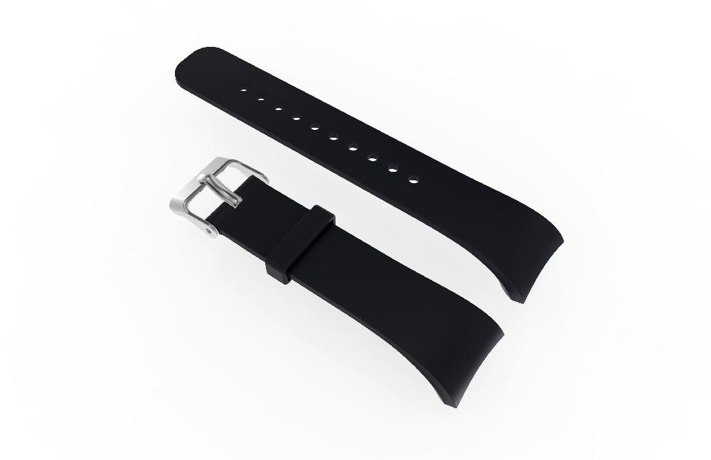 Silicone Watch Band Replacement Wrist Strap for Samsung Gear Fit2 <font><b>R360</b></font> R365 R366 Bracelet Smart Watch image