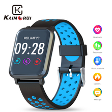 Smart Wristband Color IPS Screen Heart Rate Monitor Pedometer Fitness Bracelet Activity Tracker Watch Men for Android IOS Phone цена 2017