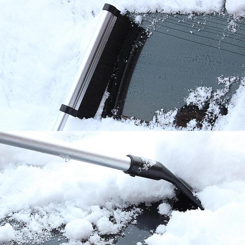 Retractable Shovel Snow Shove Aluminium Alloy Rod Windshield Ice Scraper Outdoor Ski Sport Snowboard Snow Tool Tools Garden Tools