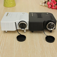 Portable UG28+ Mini LED Projector HDMI Home Theater PC Laptop VGA USB SD AV 48 Lux(China)
